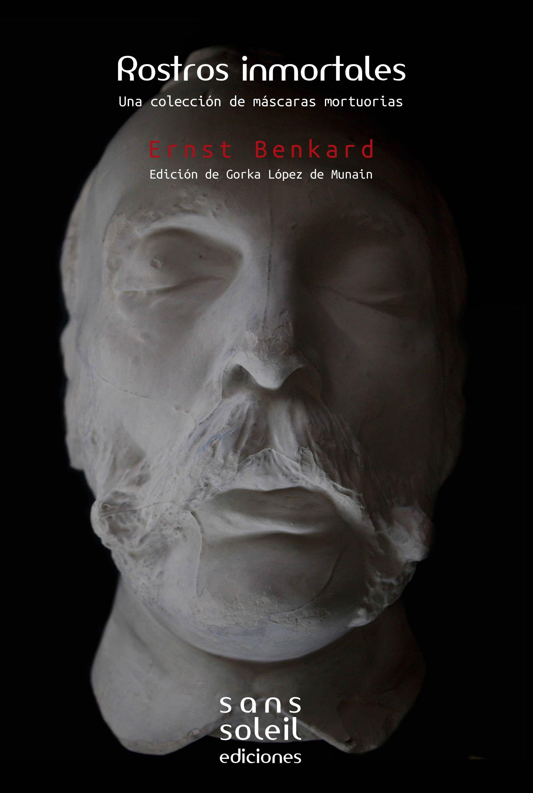 Edición digital de Rostros Inmortales, una colección de máscaras mortuorias