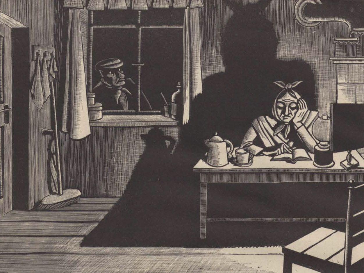 (1941) El hombre en la ventana